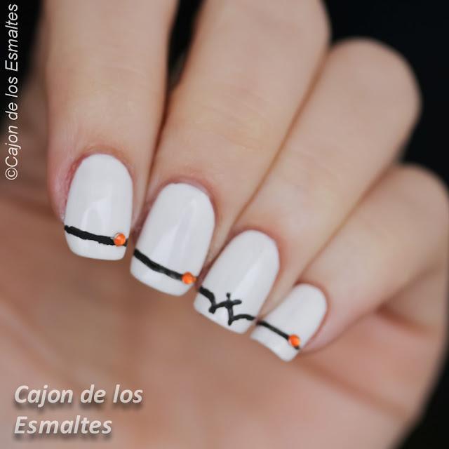 Diseños de halloween para uñas