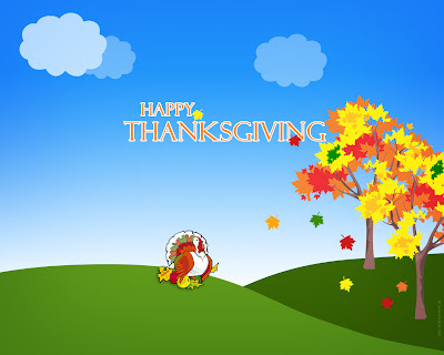 Free Thanksgiving PowerPoint Background 24