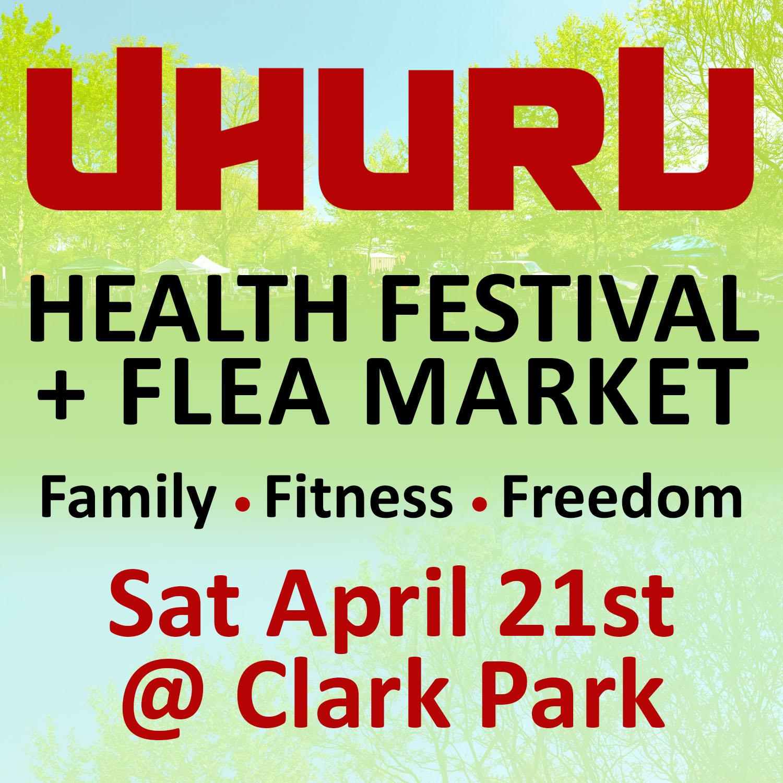 Sat April 21st @ Clark Park