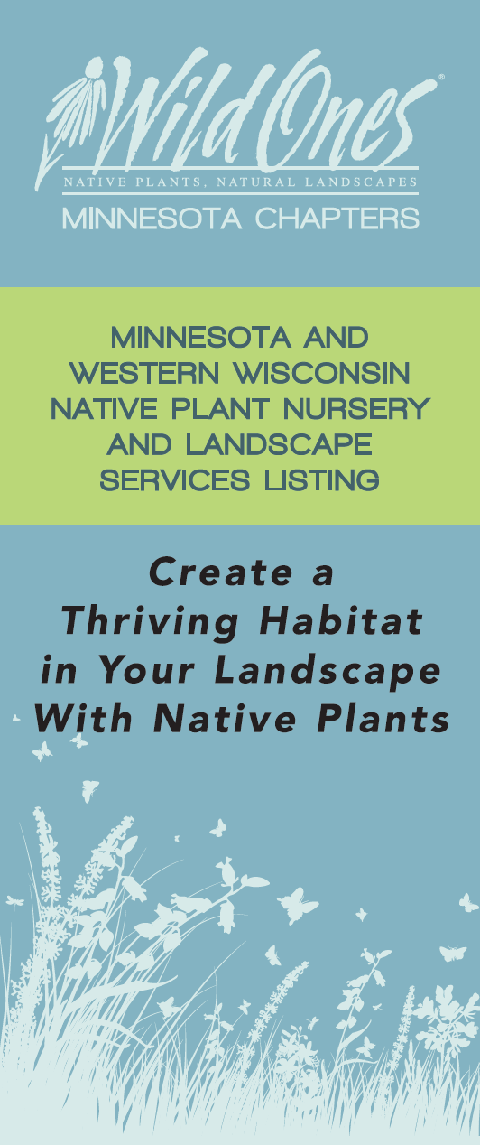 Minnesota and Western Wisconsin Native Plant Nursery and Landscape Services