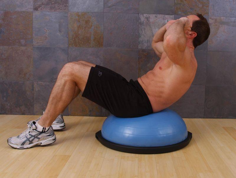 Cardio Trek - Toronto Personal Trainer: BOSU Exercises ...