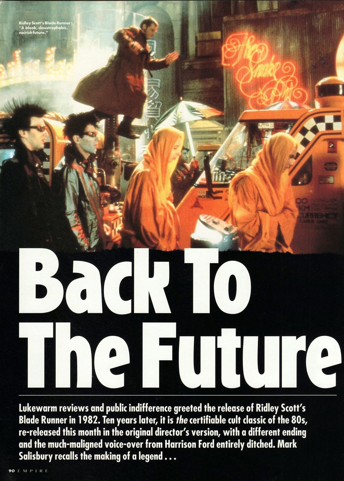 EMPIRE No.42 (Dec 1992) Blade Runner BlBladerunner_Empire4201