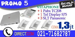 Promo 5 Pabx Vitaphone 308