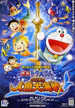 Doraemon the Movie: Nobita's Mermaid Legend poster