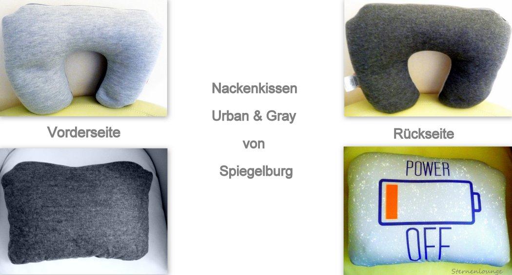 Nackenkissen Urban & Gray aus der Spiegelburg Collection