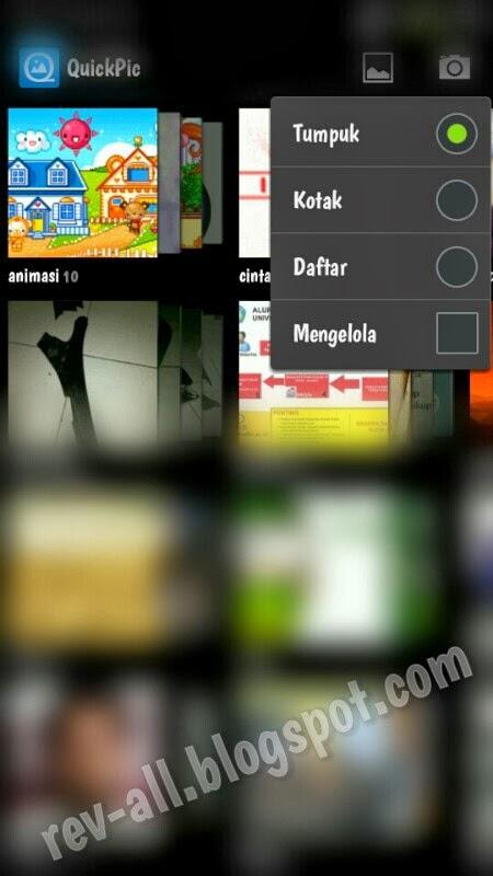 Menu tampilan QuickPic - aplikasi galeri alternatif untuk perangkat Android (rev-all.blogspot.com)