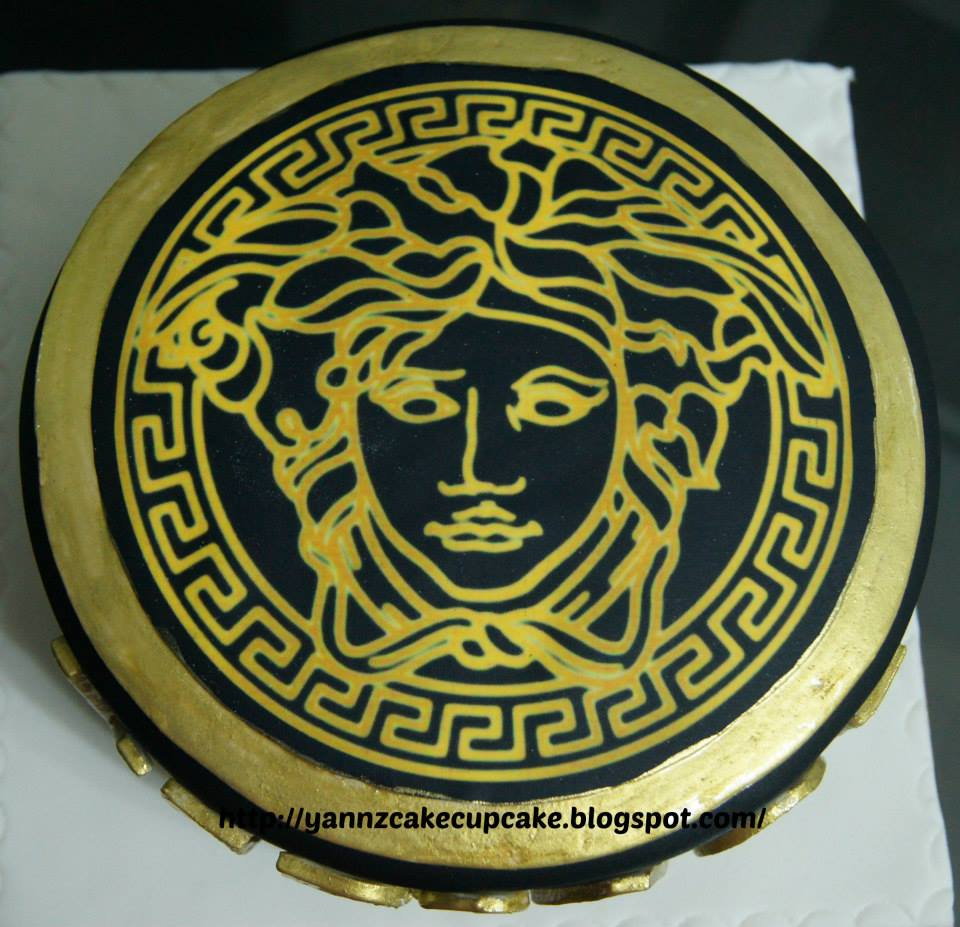 Versace Cake Decorations