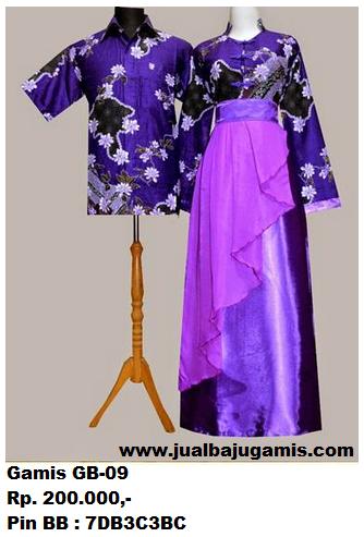 Gambar Baju Gamis Batik Couple Murah