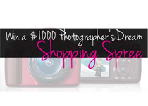 DSLR Camera or $1000 Paypal Cash Giveaway