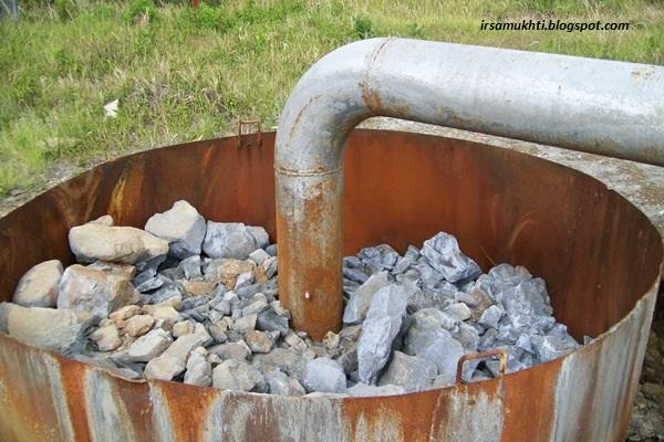 Rock Muffler Di Lapangan Geothermal