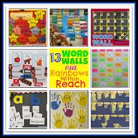 photo of: Word Wall + Sight Words RoundUP by RainbowsWithinReach