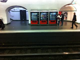 Referências Vending Machines   Europa
