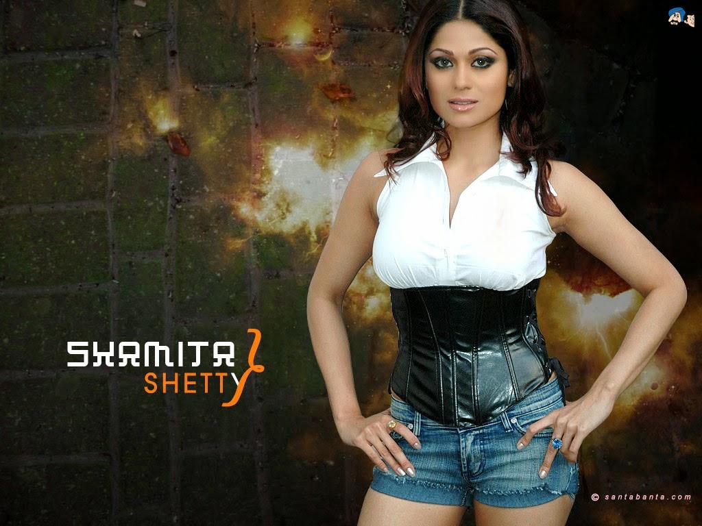 Koleksi Foto Shamita Shetty Terseksi 9