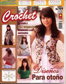 Revista Crochet № 44 2010 Disenos Para Otoño