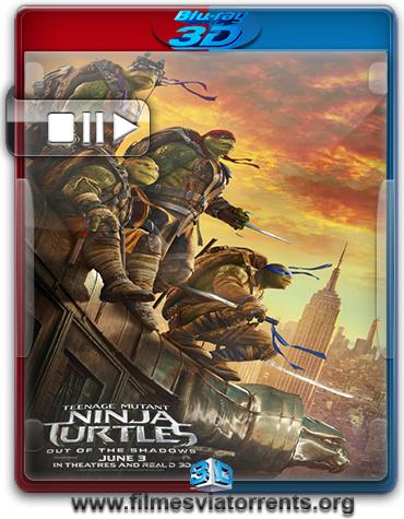 As Tartarugas Ninja: Fora das Sombras Torrent – BluRay Rip 1080p 3D HSBS Dublado 5.1 (2016)