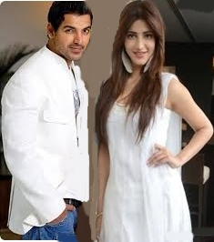 Shruti Hassan & John Abraham Lives Together for welcome back movie