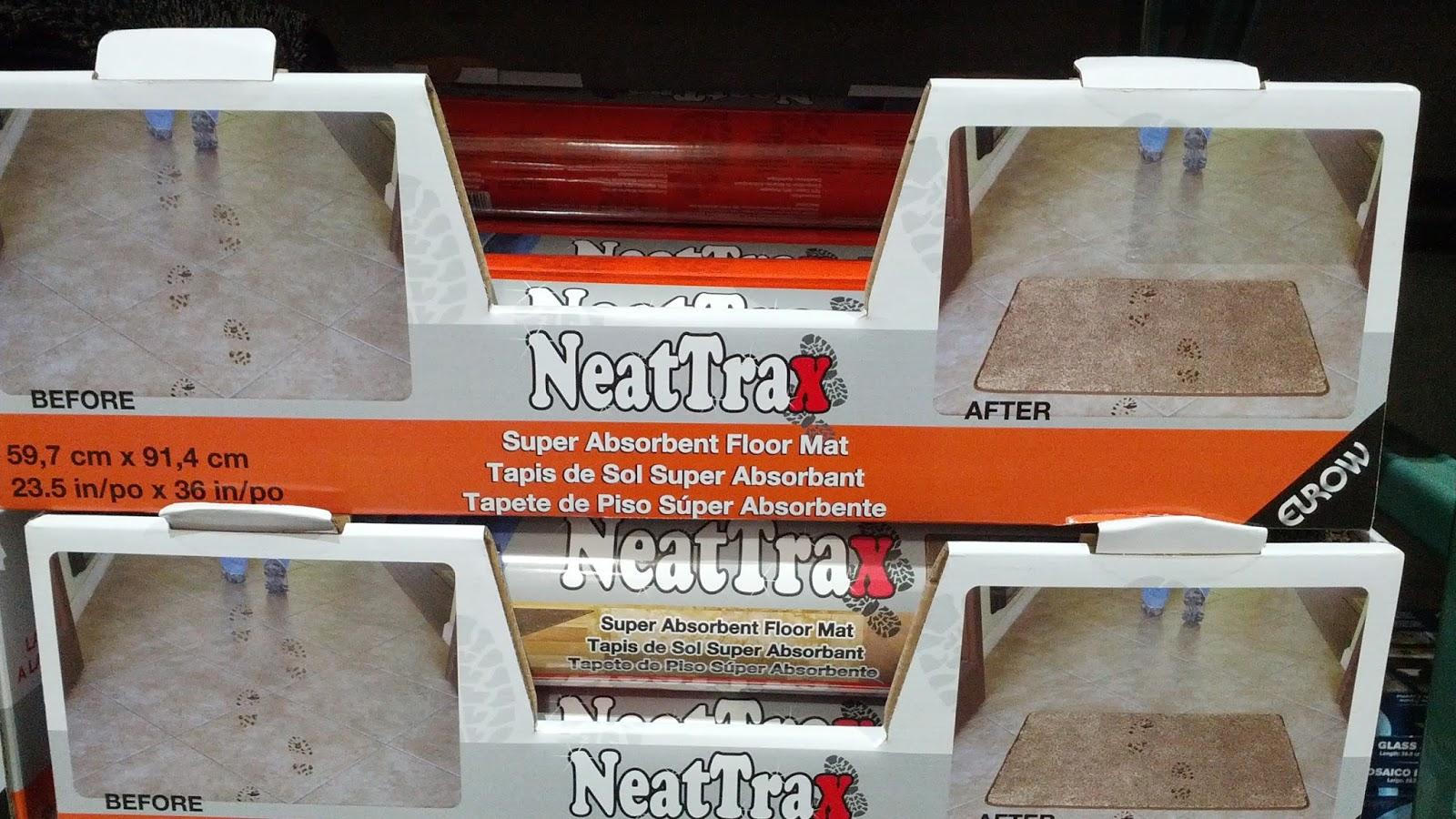 Eurow Neattrax Indoor Floor Mat 23 5 Quot X 36 Quot Costco