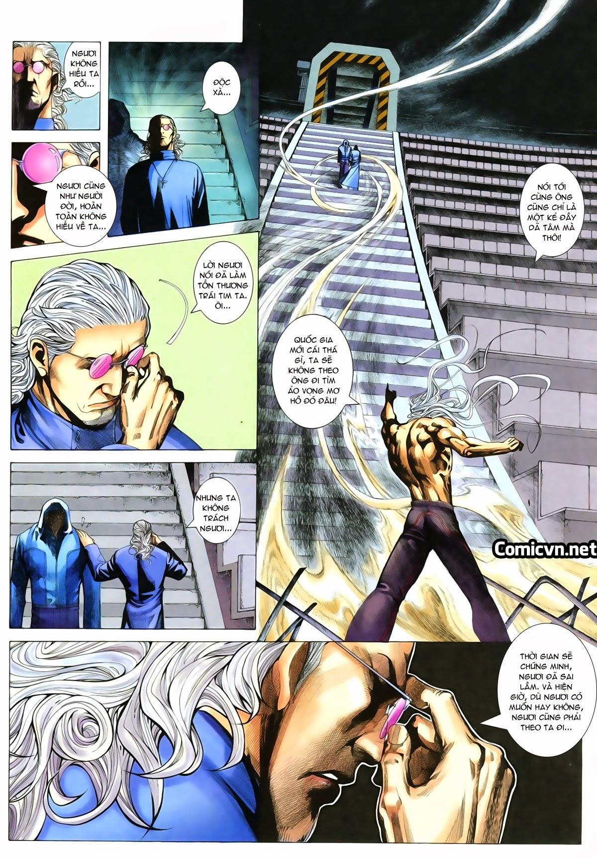 Tuyệt Địa Thiên Hành chap 8 Trang 7 - Mangak.info