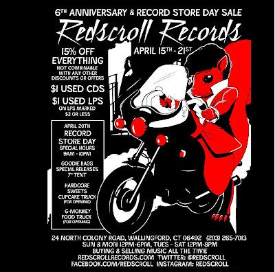 Redscroll Records April 2013