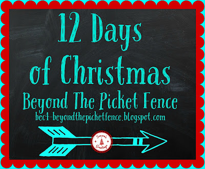 Christmas ideas, DIY, budget decor, http://bec4-beyondthepicketfence.blogspot.com/2015/12/12-days-of-christmas-day-9-easy.html