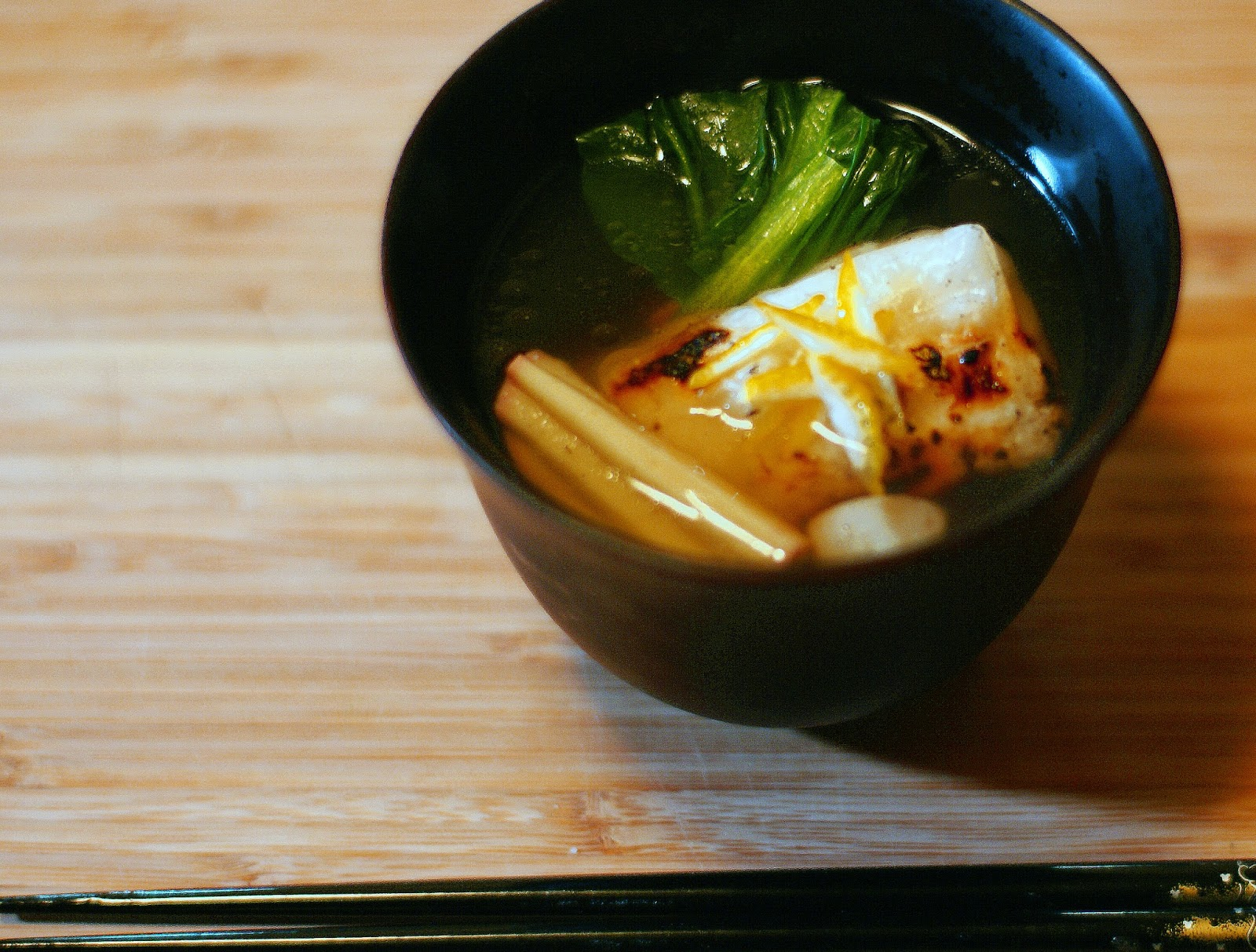 TabiEats: How to Make Ozoni-Japanese New Year's Rice Cake Soup
