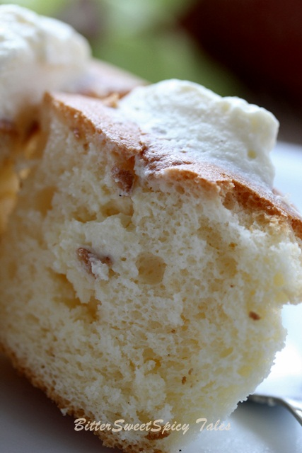 Bittersweetspicy Hokkaido Chiffon Cupcakes With Whipped