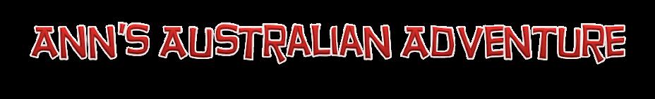 Ann's Australian Adventure