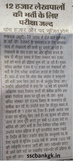 Lekhpal result date latest celebrity