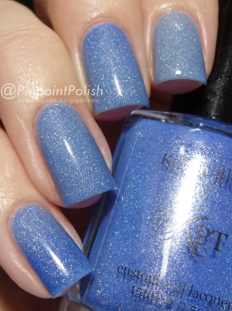 Kelvin Blue, Polished By KPT, swatch