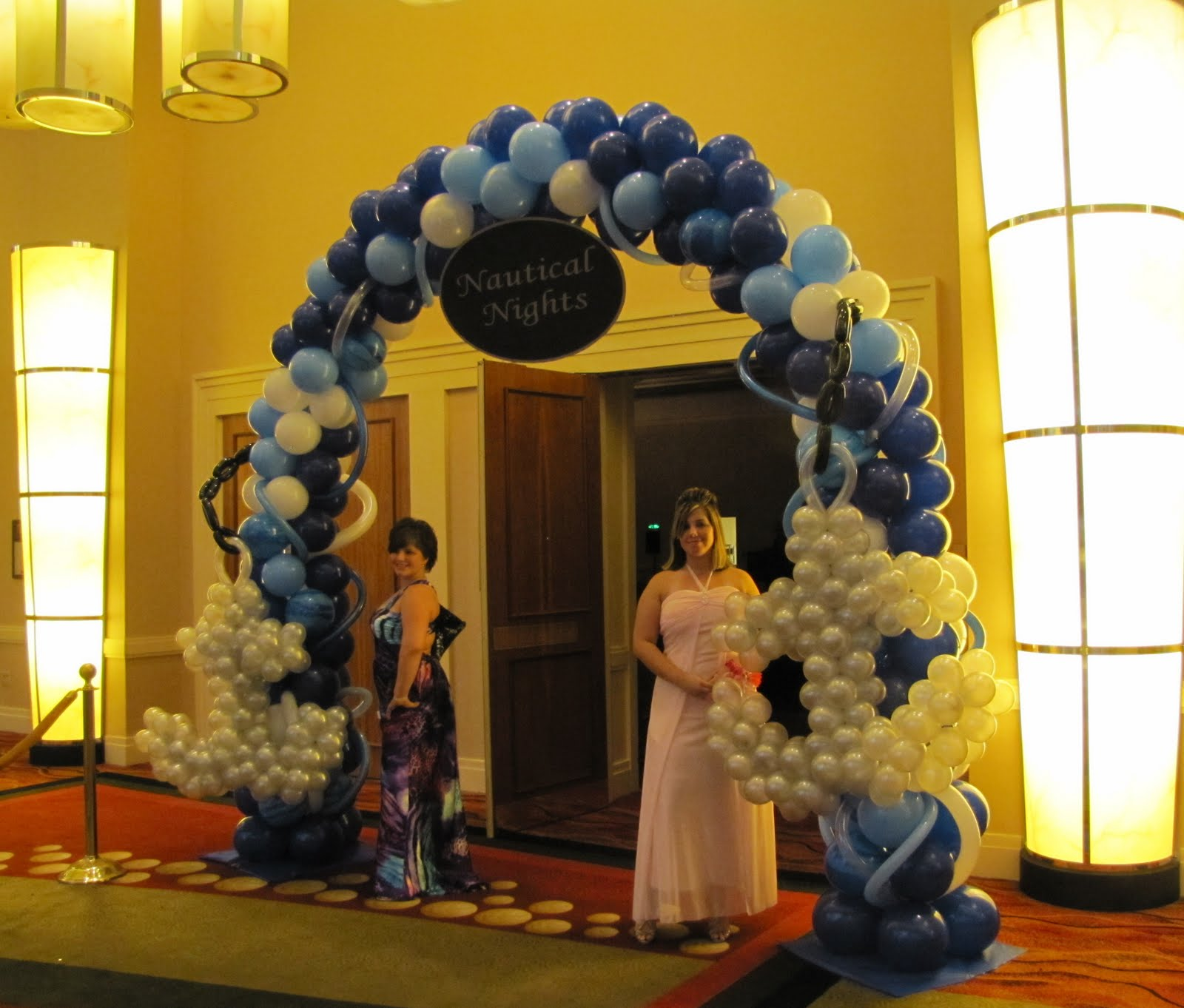 Party people event decorating company lakeland high for Balloon decoration company