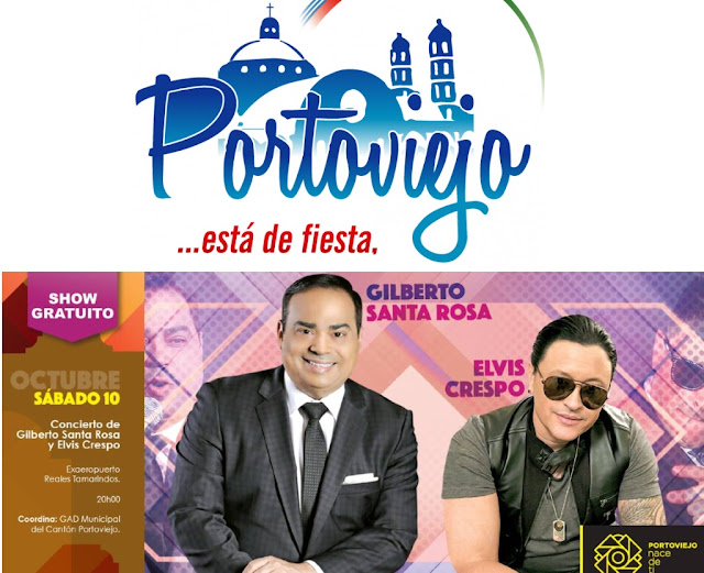 Programa completo fiestas de Portoviejo Octubre 2015