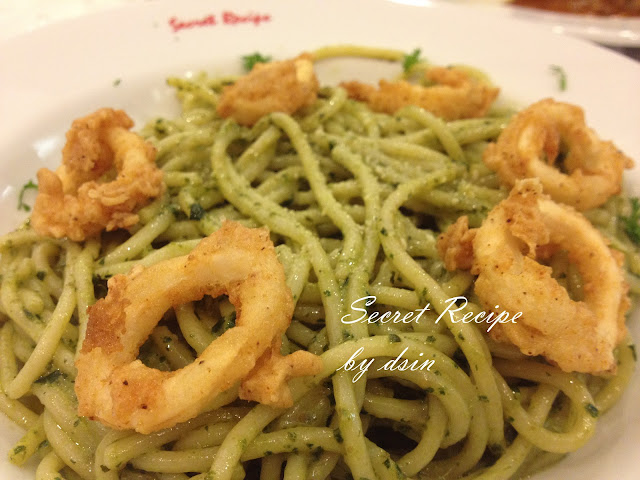Dining at Secret Recipe