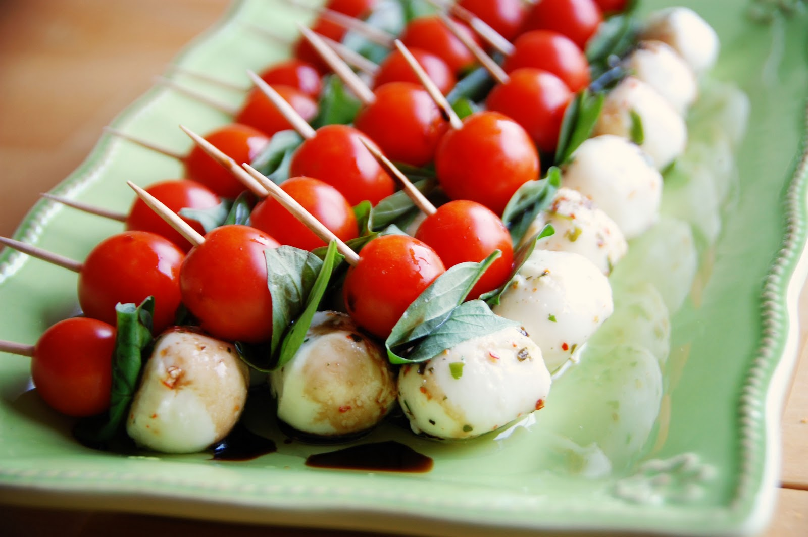 Barefoot and Baking: Caprese Salad Skewers