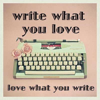 write about what you love