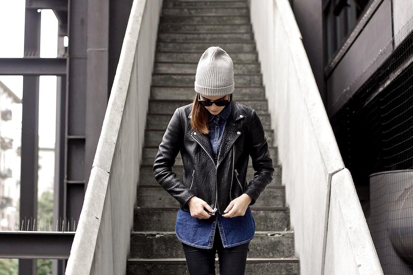 american vintage leather jacket