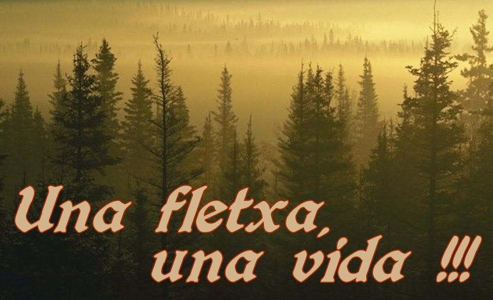 UNA FLETXA, UNA VIDA