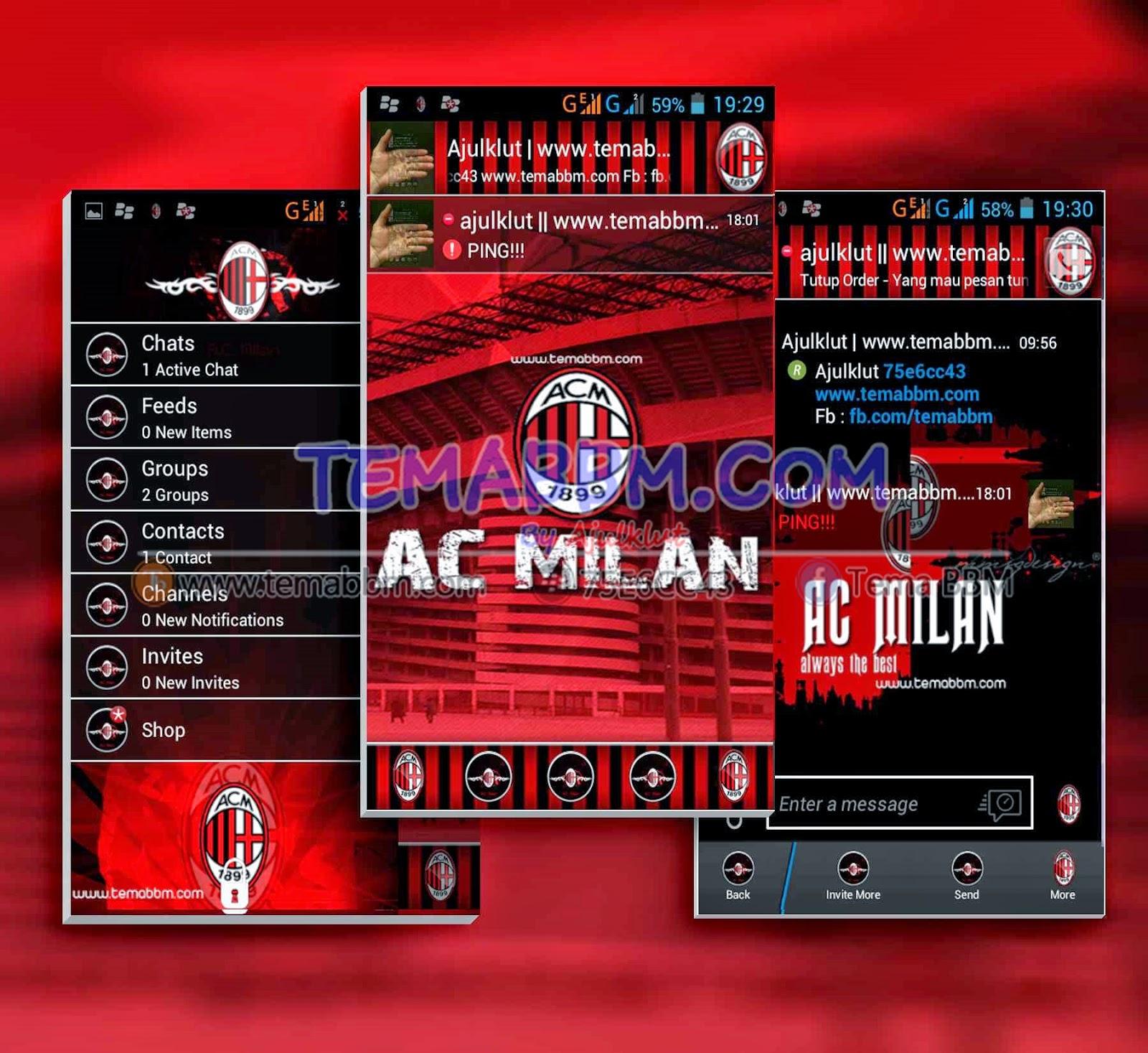 Tema BBM AC Milan