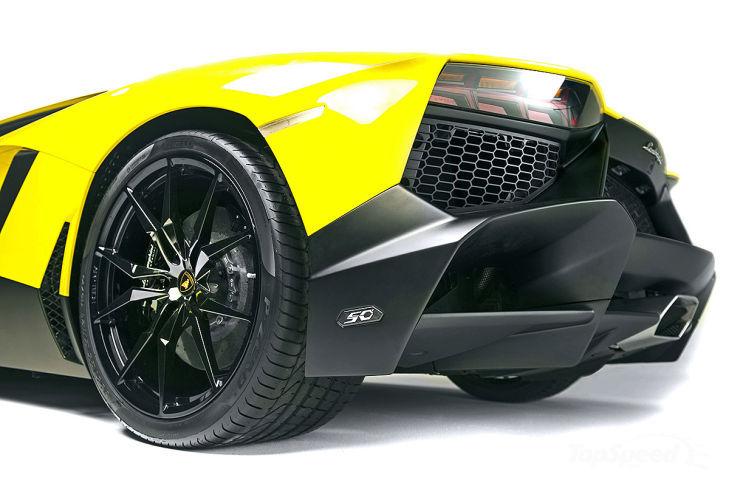 a car Lamborghini Aventador LP720-4 2014