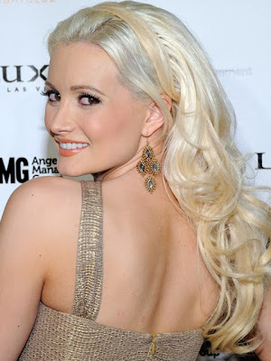 Holly Madison Dangling Gemstone Earrings