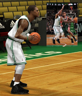 NBA 2K13 Nike Foamposite One Stealth - Rajon Rondo