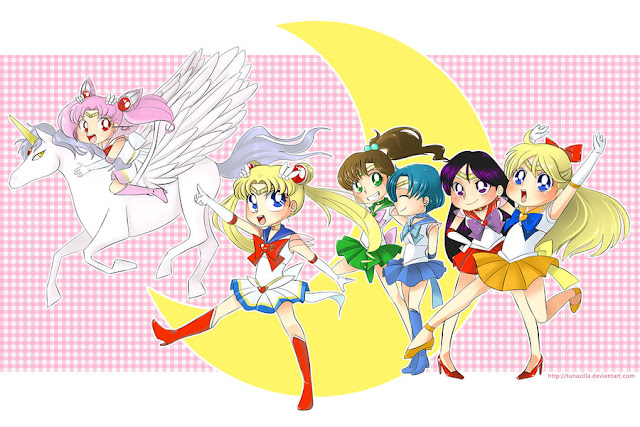 Sailor Moon por Tunazilla