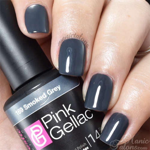Pink Gellac Smoked Grey Swatch