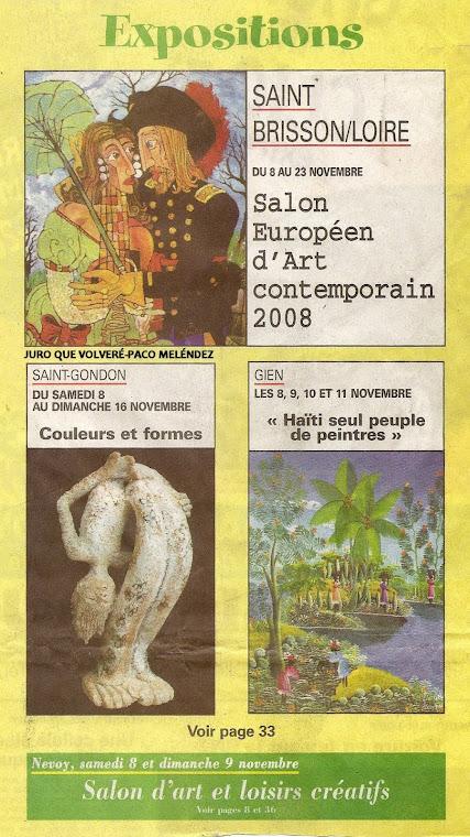 Le Journal de Gion-France Jueves 6-11-08(Portada)