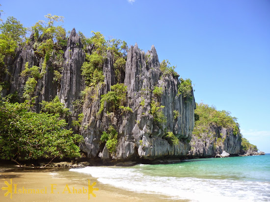 Wonderful cliff near Puerto Princesa Underground River