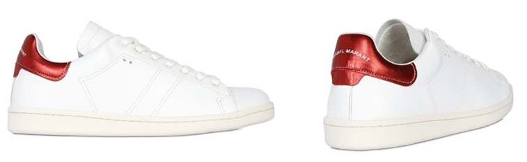 Isabel Marant Etoile Bart Sneakers leather white