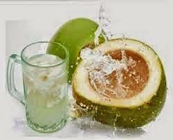 mengobati sariawan dengan alami menggunakan aitr kelapa