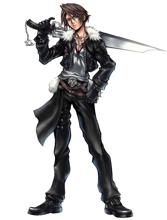 squall leonhart height