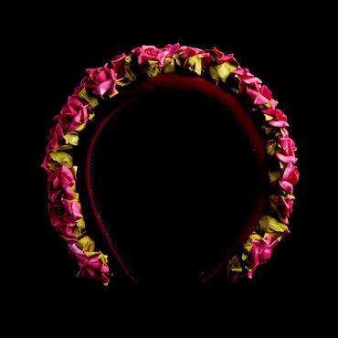 Pretty, dainty, flower headband by designer Sophie McElligott