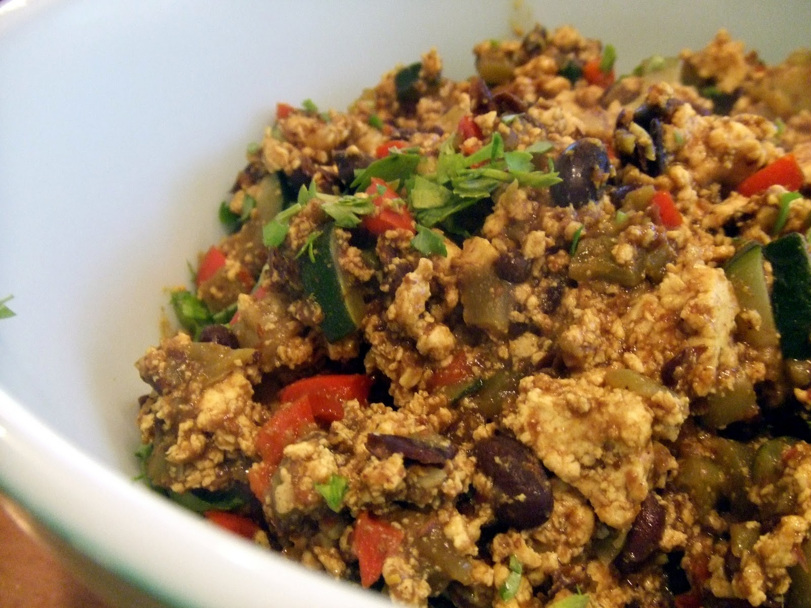 10. Mexican Sunday Brunch - a delicious feast of Mexican Tofu Scramble ...