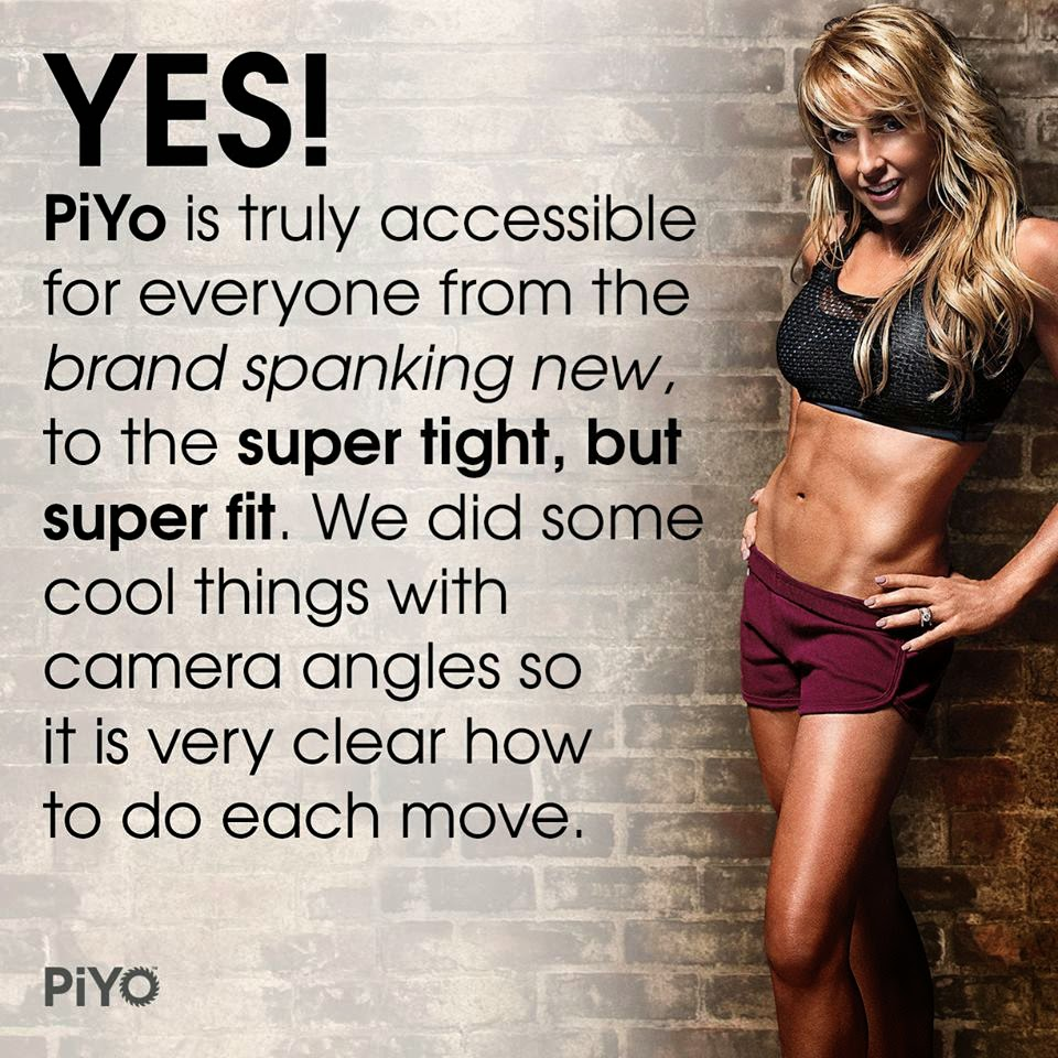 PiYo test group, PiYo Results, What is PiYo